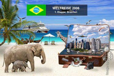 Bild: 1. Etappe der Weltreise, Ziel: Brasilien - Reiseblog von Frank Seidel