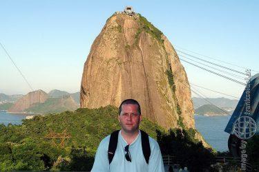 Bild: Sugar Loaf in Rio de Janeiro - Reiseblog von Frank Seidel