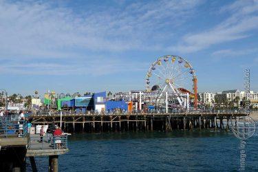 Bild: Santa Monica Pier, Los Angeles - Reiseblog von Frank Seidel