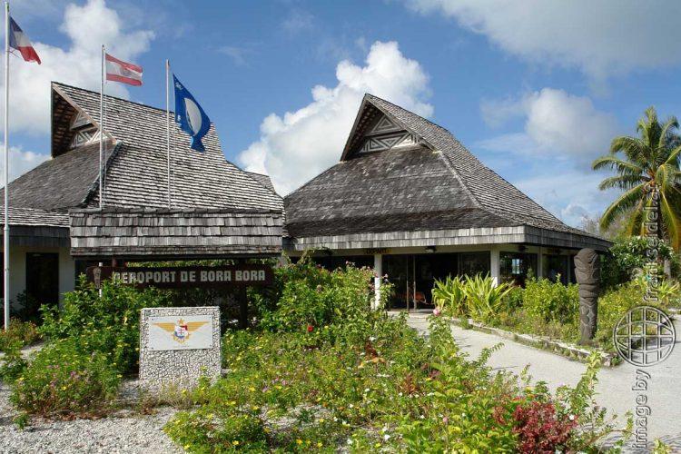 Bild: Flughafen von Bora Bora - Reiseblog von Frank Seidel