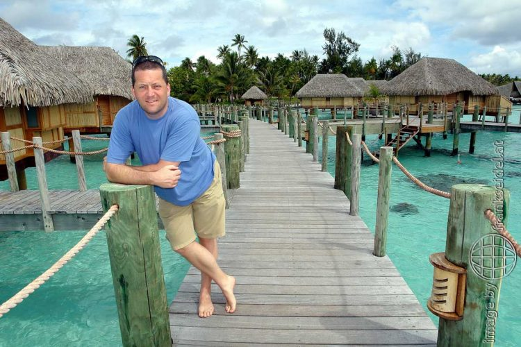 Bild: Frank Seidel im Bora Bora Pearl Beach Hotel - Reiseblog von Frank Seidel