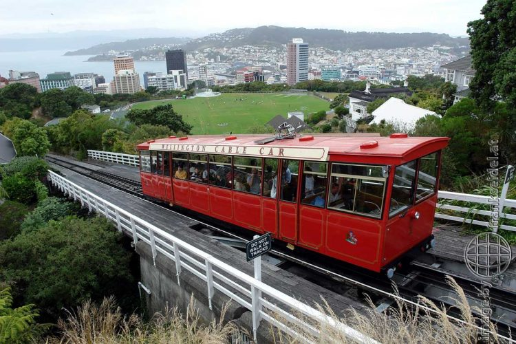 Bild: Cable Car in Wellington - Reiseblog von Frank Seidel
