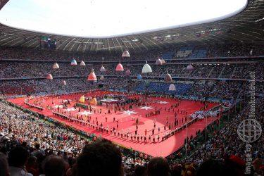 Bild: Eröffnung der Fußball-WM 2006 in München - Reiseblog von Frank Seidel