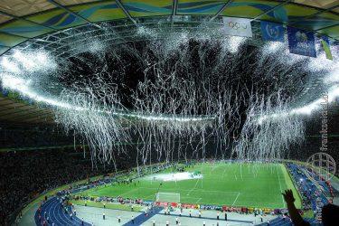 Bild: Nach dem Finale der FIFA WM 2006 im Berliner Olympiastadion - Reiseblog von Frank Seidel