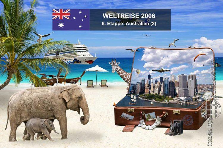 Bild: 6. Etappe der Weltreise, Ziel: Australien - Reiseblog von Frank Seidel