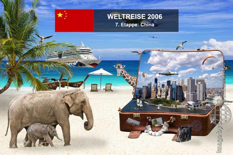 Bild: 7. Etappe der Weltreise, Ziel: China - Reiseblog von Frank Seidel