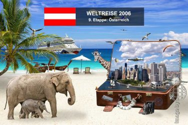 Bild: 9. Etappe der Weltreise, Ziel: Österreich - Reiseblog von Frank Seidel