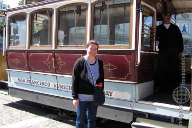 Bild: Cable Car in San Francisco - Reiseblog von Frank Seidel