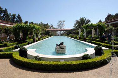 Bild: Getty Villa in Malibu - Reiseblog von Frank Seidel
