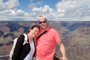 Bild: Aussichtspunkt Grand Canyon South Rim - Reiseblog von Frank