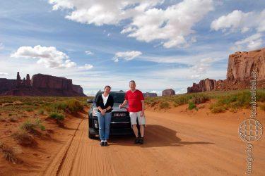 Bild: Monument Valley - Reiseblog von Frank Seidel