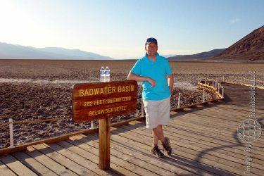 Bild: Frank Seidel im Death Valley - Reiseblog von Frank Seidel