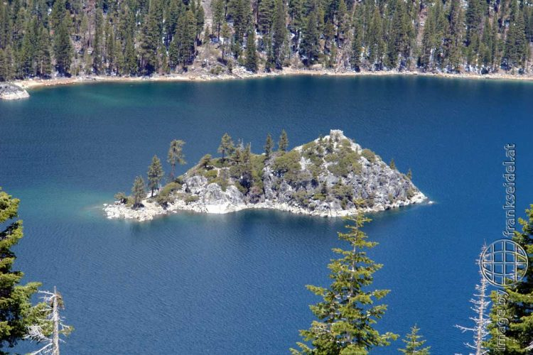 Bild: Fannette Island, Lake Tahoe - Reiseblog von Frank Seidel