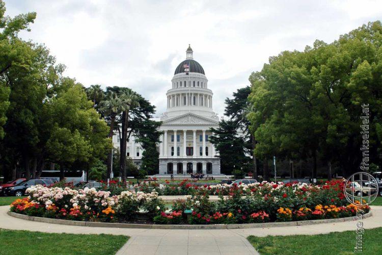 Bild: California State Capitol in Sacramento - Reiseblog von Frank Seidel