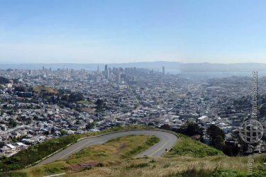 Bild: Twin Peaks, San Francisco - Reiseblog von Frank Seidel