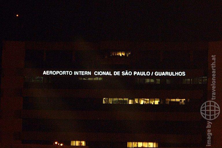 Bild: Weltreise, Flug nach Rio de Janeiro