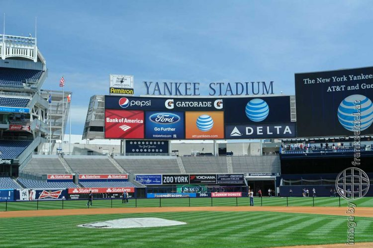 Bild: Yankee Stadium, New York City, USA - Reiseblog von Frank Seidel