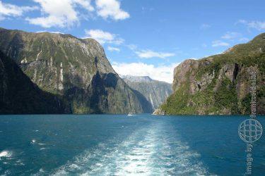 Bild: Milford Sound, Neuseeland - Reiseblog von Frank Seidel
