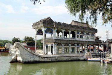 Bild: Sommerpalast Yihe Yuan in Peking, China - Reiseblog von Frank Seidel