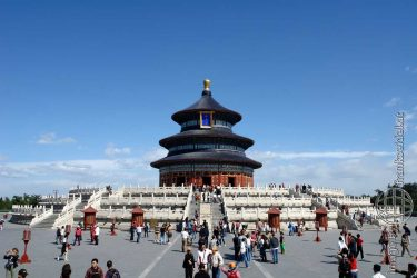Bild: Himmelstempel Tiantan in Peking, China - Reiseblog von Frank Seidel
