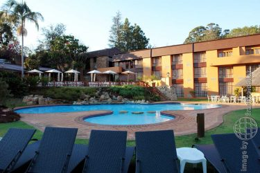 Bild: Hotel Pine Lake Inn, Südafrika - Reiseblog von Frank Seidel